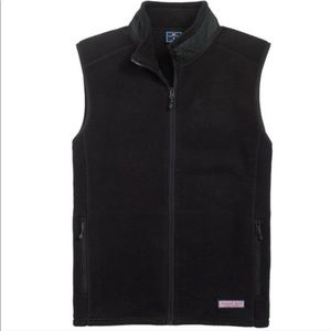 {Vineyard Vines} Men's Fleece Zip Up Vest Sz M